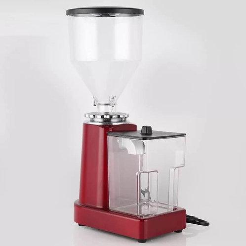 Electric Italian coffee grinder with powder box