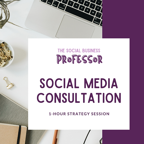 1-Hour Social Media Strategy Session