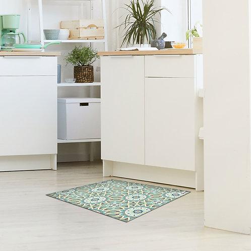 שטיח מטבח מנדלה ירוק