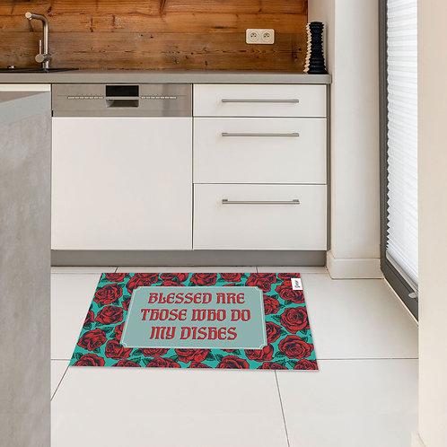 שטיח מטבח כלים