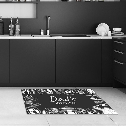שטיח מטבח המטבח של אבא
