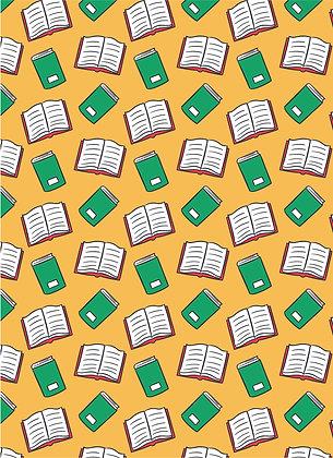 שטיח לינולאום ספרים