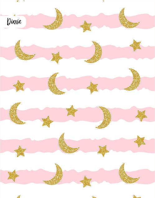 שטיח לילדים פסים כוכבים