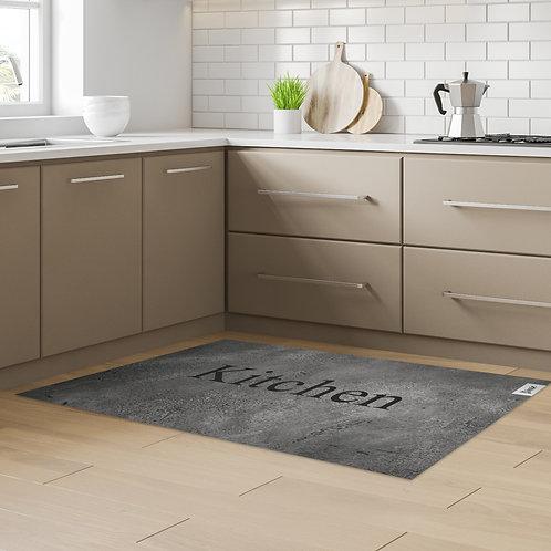שטיח מטבח בטון