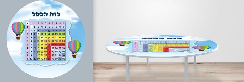 שולחן לוח הכפל