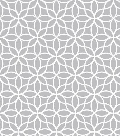 שטיח PVC לסלון -גאומטרי אפור