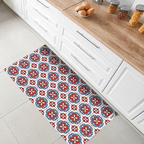 שטיח מטבח פורטוגל אדום