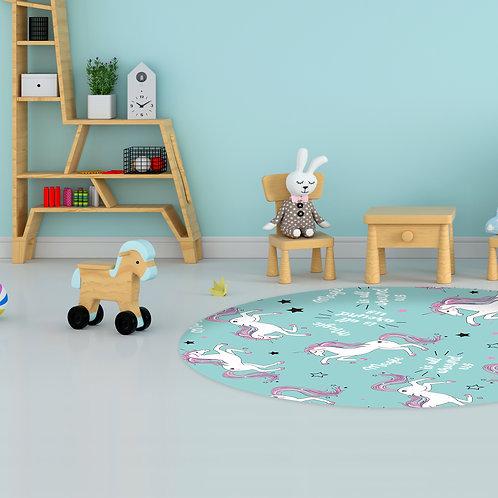 שטיח לילדים חד קרן