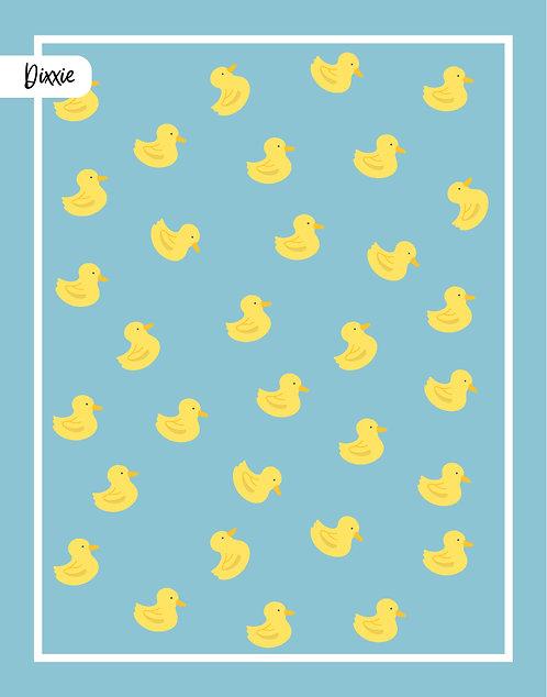 שטיח לילדים ברווזים