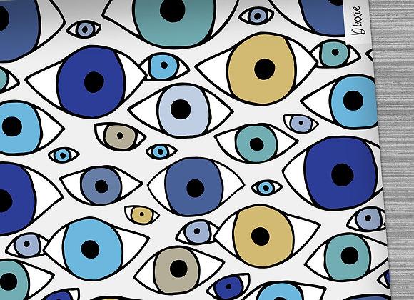 שטיח מטבח עיניים