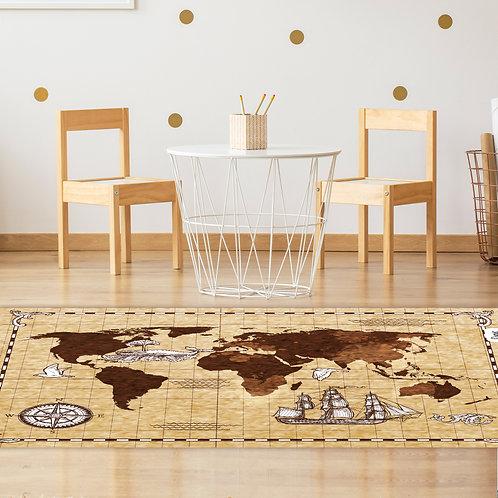 שטיח לילדים פיראטים