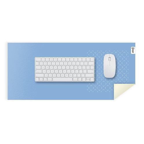 משטח עכבר מינימל כחול