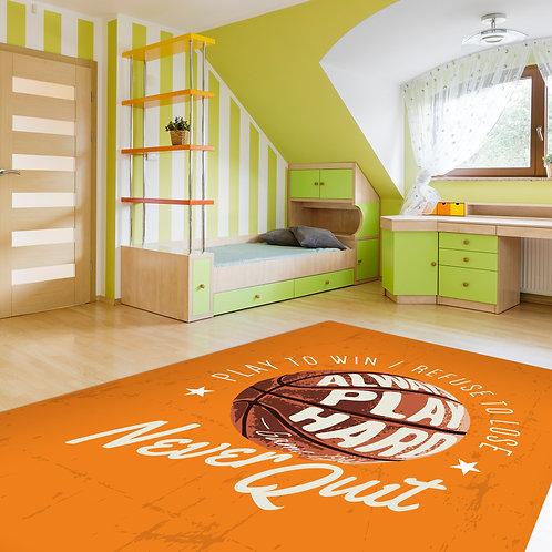 שטיח לילדים כדורסל