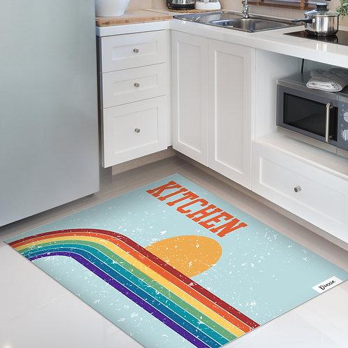 שטיח מטבח שמש רטרו