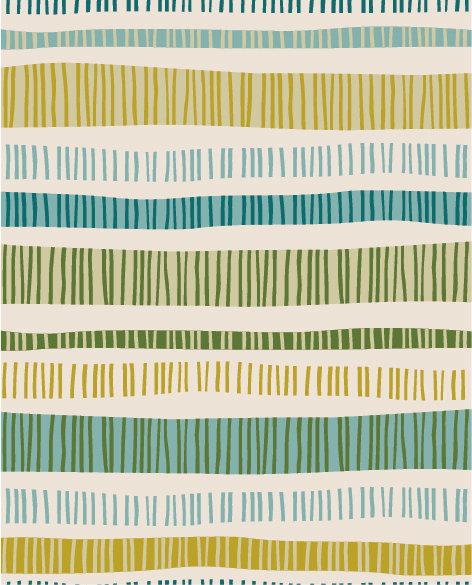שטיח PVC לסלון -פסים