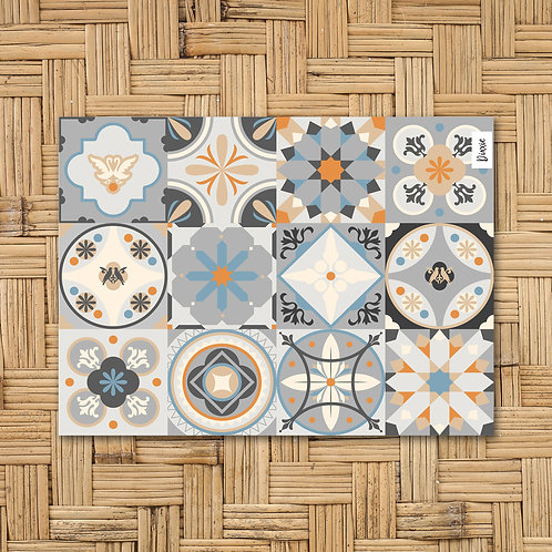 שטיח מטבח אריחים פורטוגל