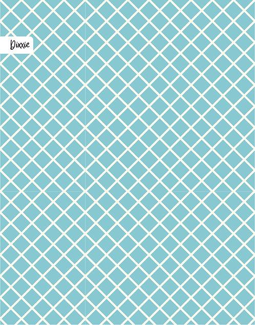 שטיח לילדים רשת כחול