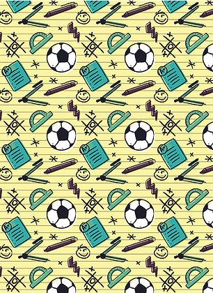 שטיח לינולאום כדורגל