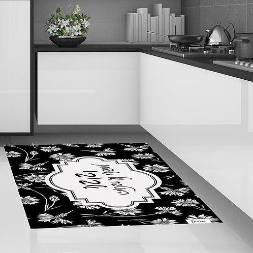 שטיח מטבח משפחה פרחוני