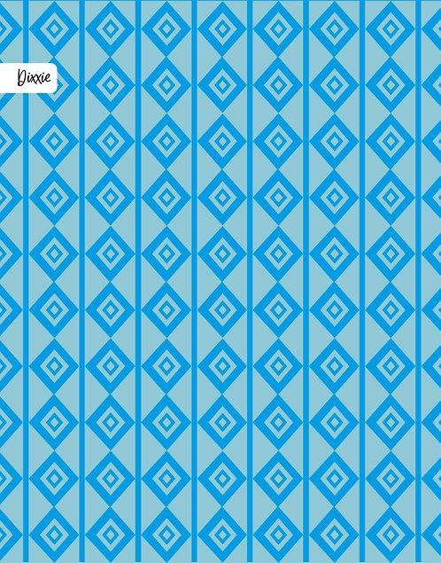 שטיח לילדים - מעויין כחול