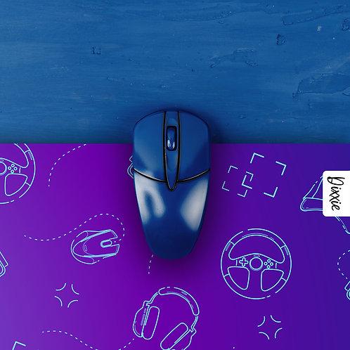 משטח עכבר גיימרים סגול ניאון
