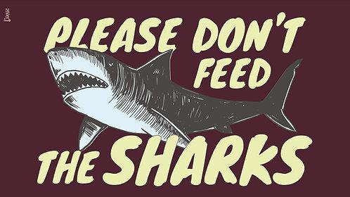 שטיח מטבח כרישים בורדו