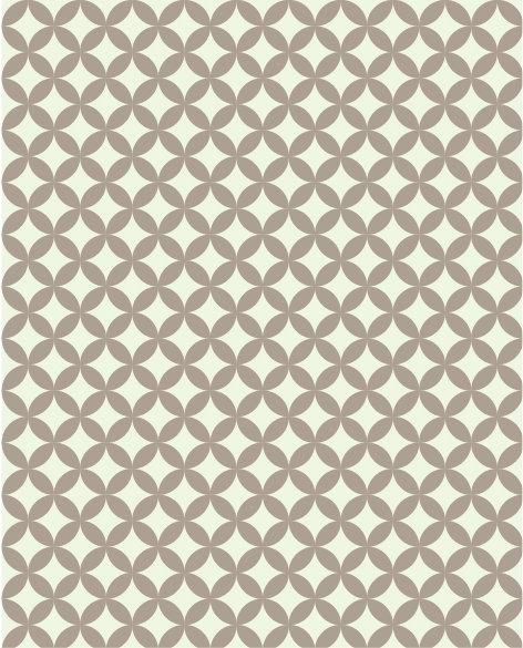 שטיח PVC לסלון -קפה גיאומטרי