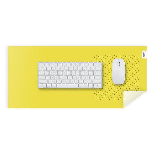 משטח עכבר מינימל צהוב