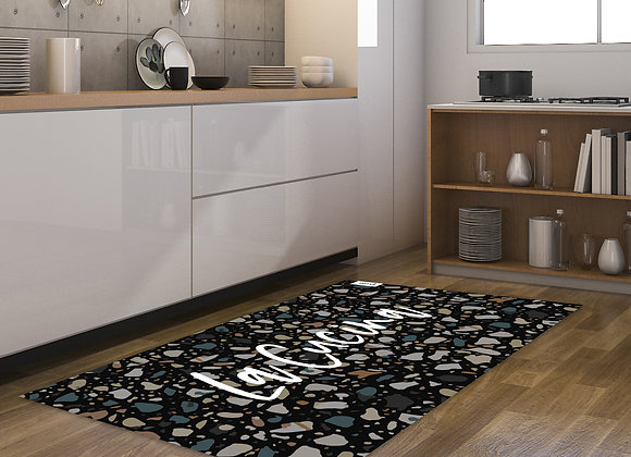 שטיח מטבח טרצו שחור