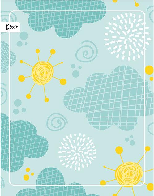 שטיח ילדים שמש וענן