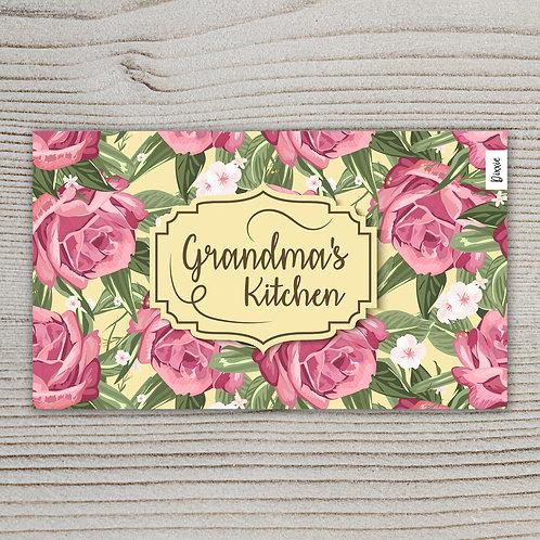 שטיח מטבח המטבח של סבתא