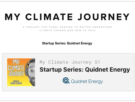 My Climate Journey Startup Series: Quidnet Energy