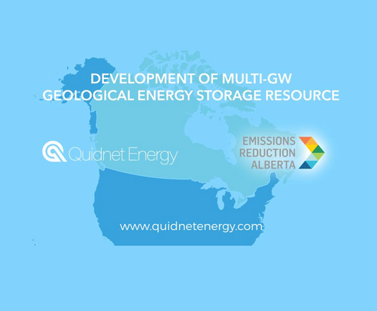 Quidnet Energy and Emissions Reduction Alberta partner to develop transformative energy storage reso