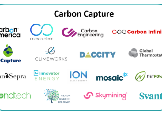Carbon Capture: The Air Miners and the Pickaxe Sellers