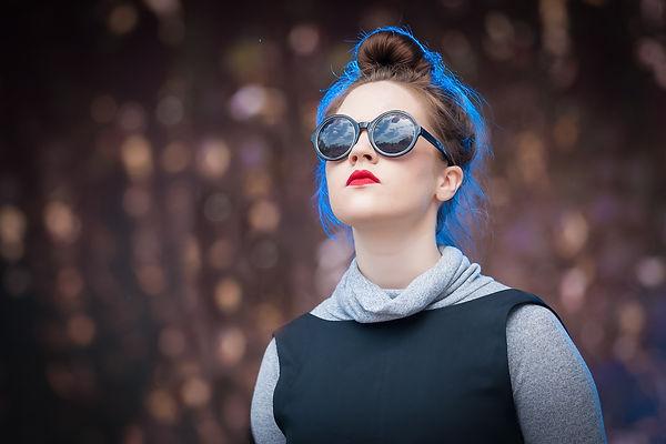 Headshot of female singer taken at MMVAF