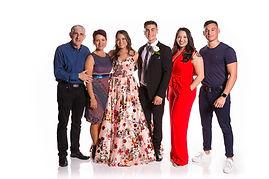 Family in Pop-Up Studio