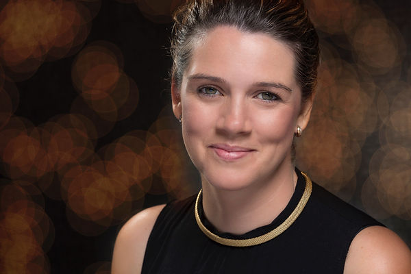 Corporate headshot taken for a book cover