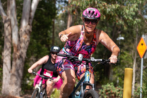 Pink Triathlon at University of Sunshine