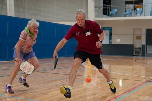 World Pickle Ball Day at Caloundra Indoo