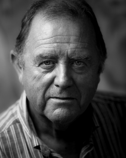 Black and white actor headshots