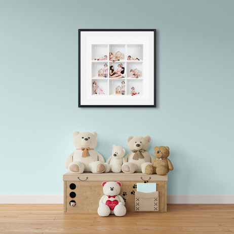 Framed print in kids room, Bruce Haggie Photography