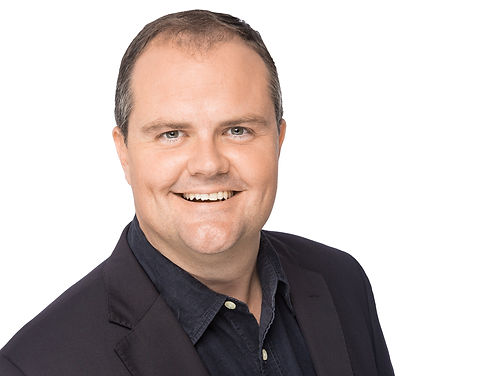 Corporate headshot taken of Ted O'Brien for Generation Innovation