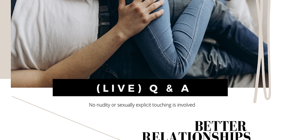(LIVE) GAWLER EVENT - Q & A - Better Relationships - Better Connection