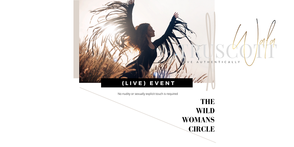 (LIVE) THE WILD WOMANS CIRCLE (FULL MOON)