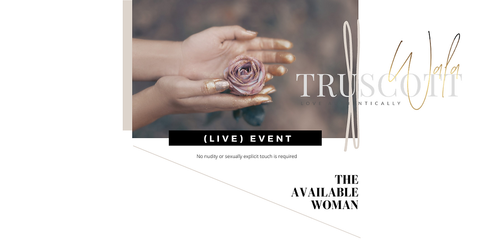(LIVE 1-DAY) THE AVAILABLE WOMAN - LEVEL 1