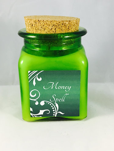 Money Spell soy candle