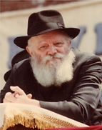 The Rebbe (Rabbi Menachem M Schneerson obm)