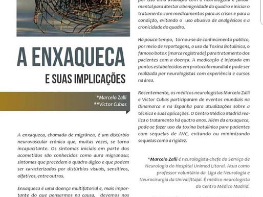 ENTREVISTA SOBRE ENXAQUECA. DR MARCELO / DR VICTOR CUBAS