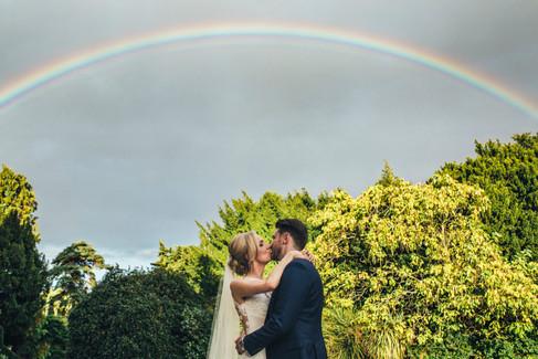 Nonsuchwedding-rainbow-couple