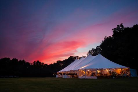 Wedding-party-marquee-garden-private